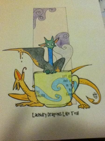 Tea Dragons 1