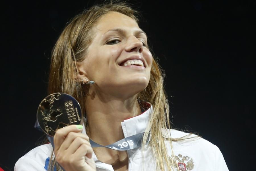 Ефимова с медалью