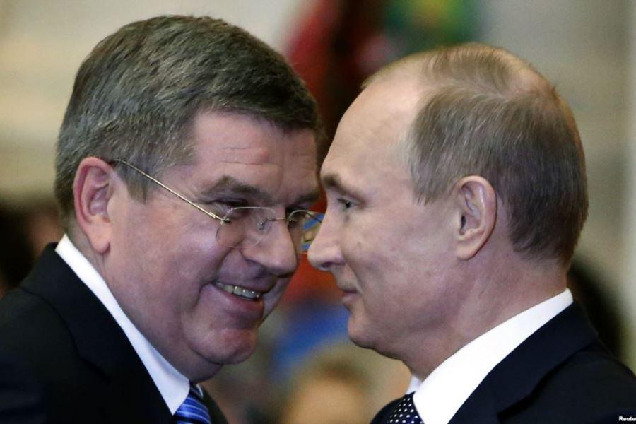 Бах и Путин