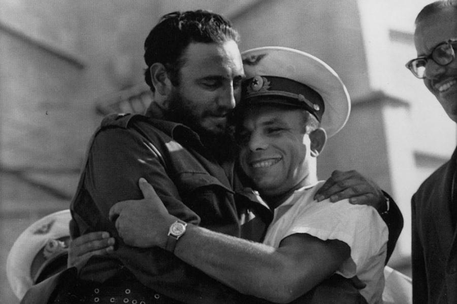 Фидель и Гагарин
