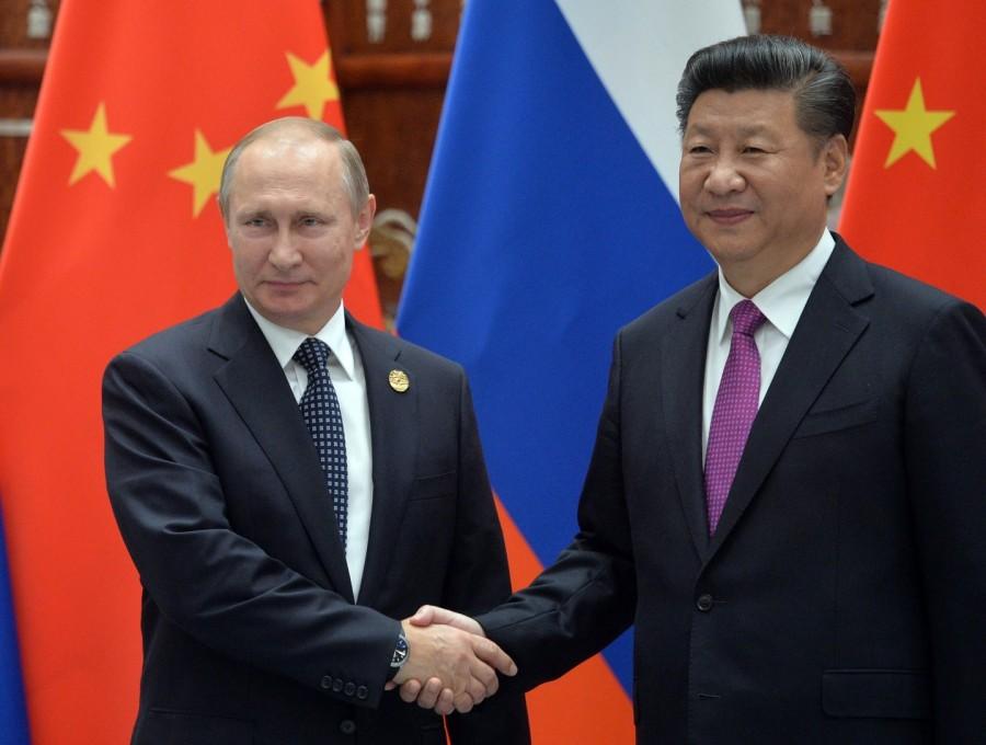 Путин и Си Цзиньпин - братья навек