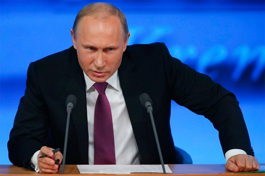 Путин страшный