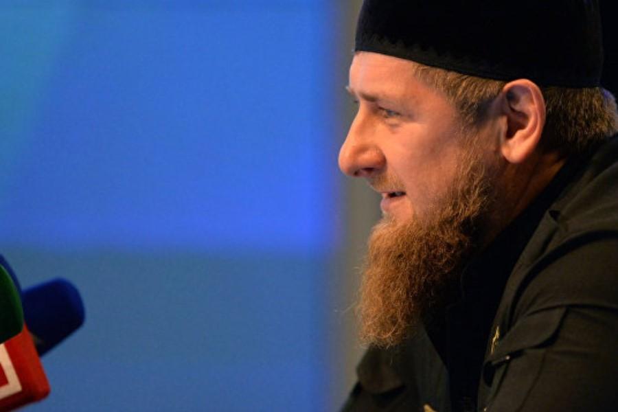 Кадыров с бородой
