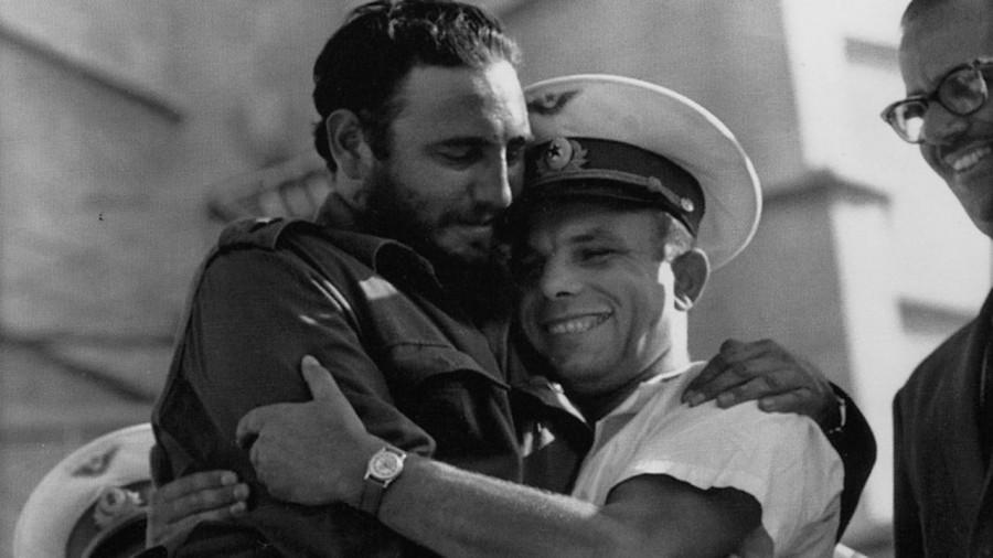 Фидель и Гагарин 1