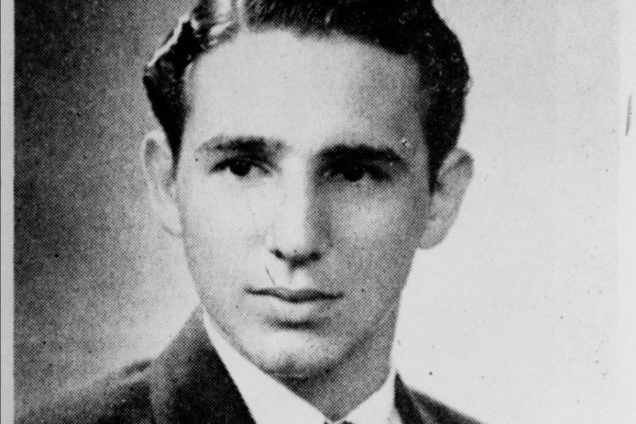Фидель Кастро в молодости