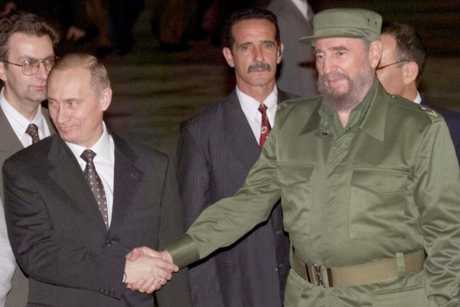Фидель и Путин