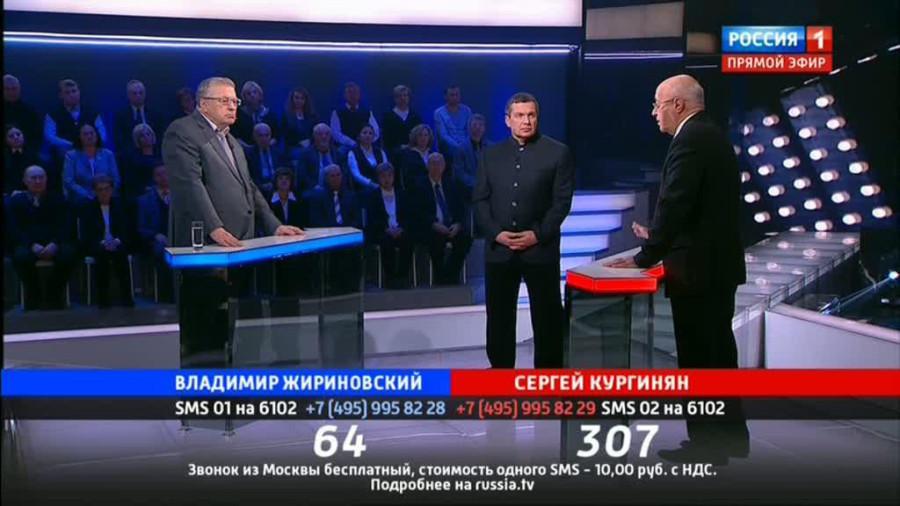Кургинян против Жириновского