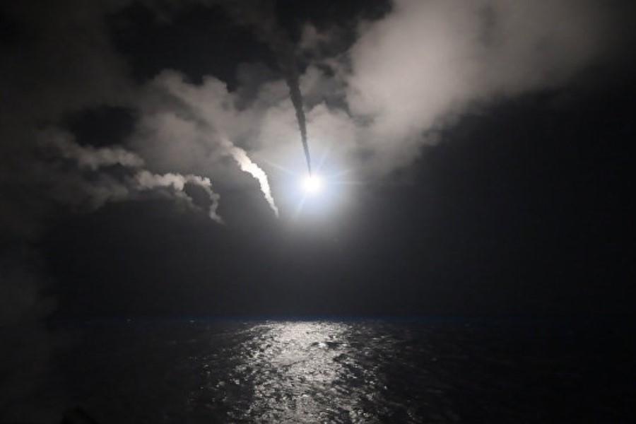 Ракетный удар ВМС США