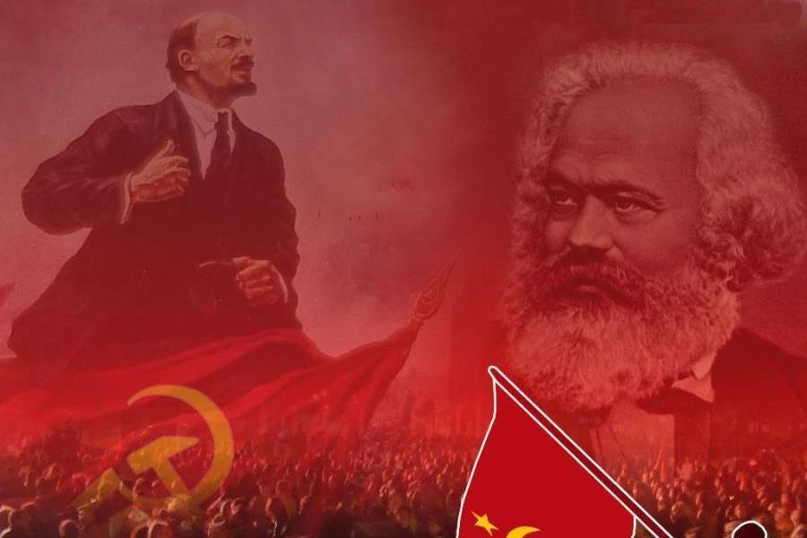 elcomunismokarlmarxyleninvivalarepblica