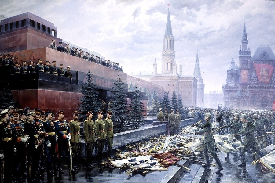 Мавзолей на Параде Победы