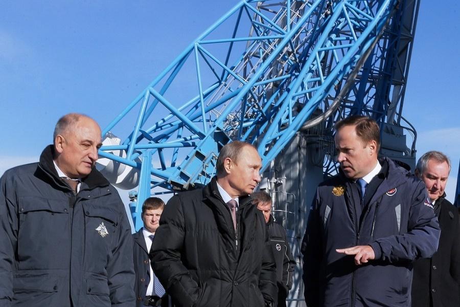 Путин на ВОсточном космодроме