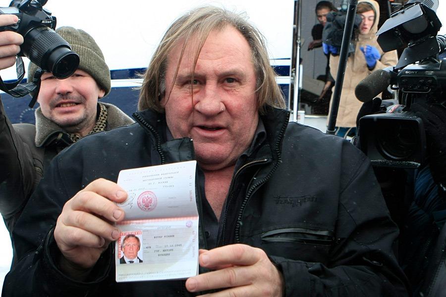 Российское гражданство Депардье