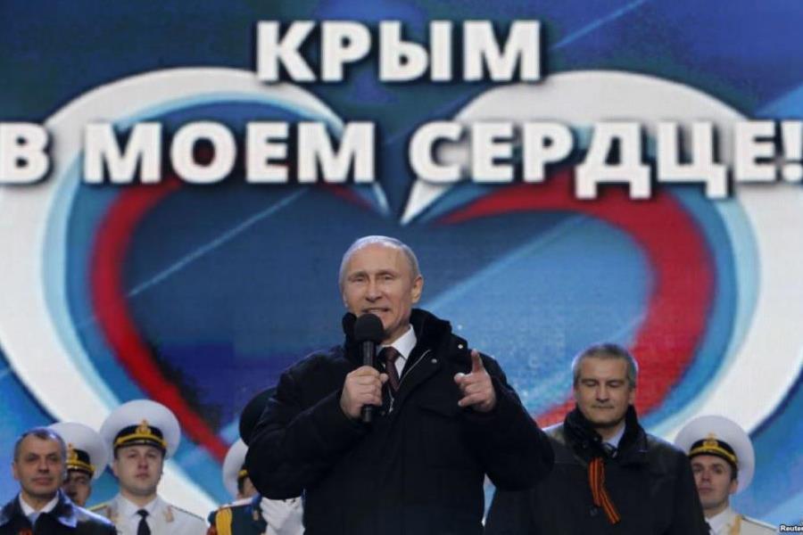 Путин Крым