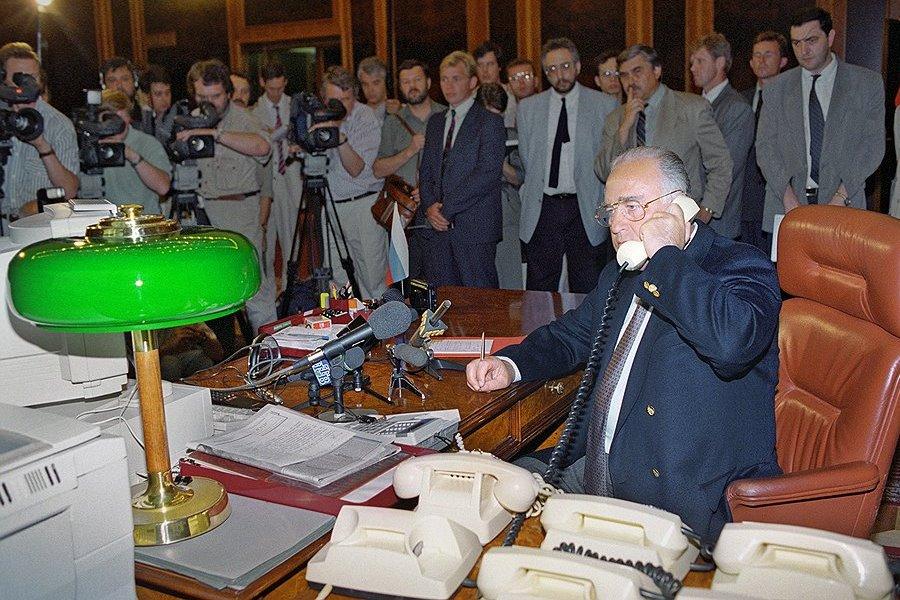 Переговоры Черном и Басаева