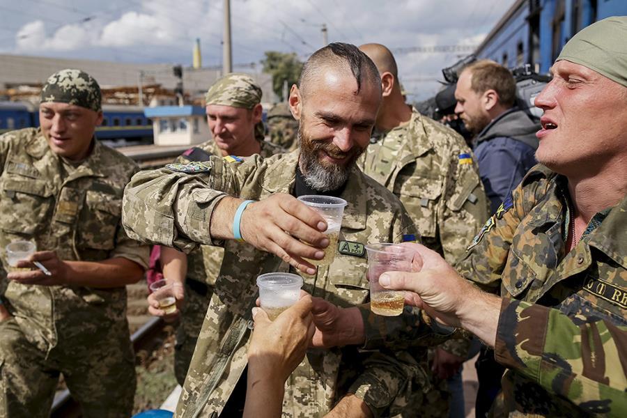 Небоевые потери укронацистов