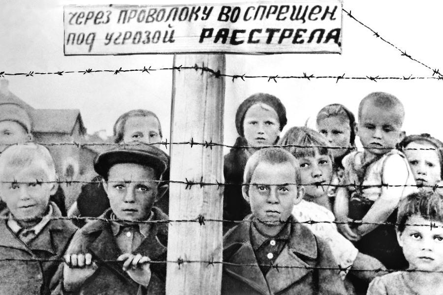 Дети, заключенные финских концлагерей