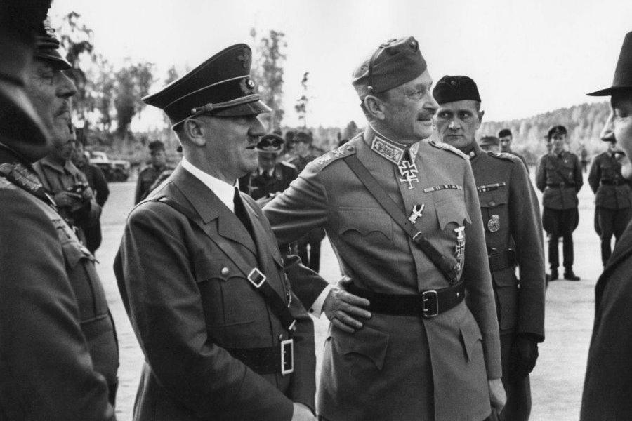 Маннергейм и Гитлер 1