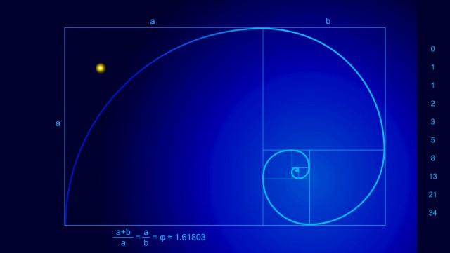Fibonacci Spiral inspired by FRINGE, copyright R.J. Crowther Jr., 2012