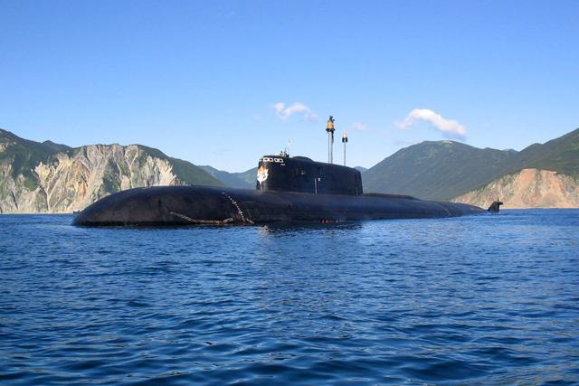 русские подводные лодки 2016