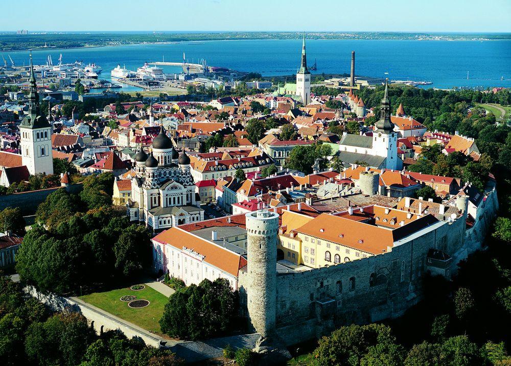 Город-Таллин-Эстония