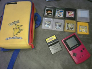 Gameboy color and pokemon games for sale! | Fur Affinity Forums
