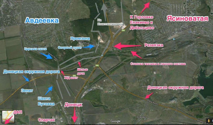 Сегодня боевики под Авдеевкой использовали для обстрелов танк и пушку калибром 122-мм, - пресс-центр АТО - Цензор.НЕТ 9508