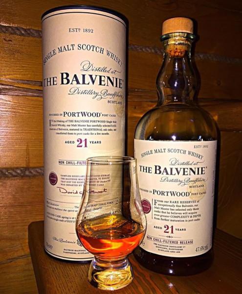 Balvenie 21 yo, PortWood, Non Chill-Filtered, 47,6%.JPG