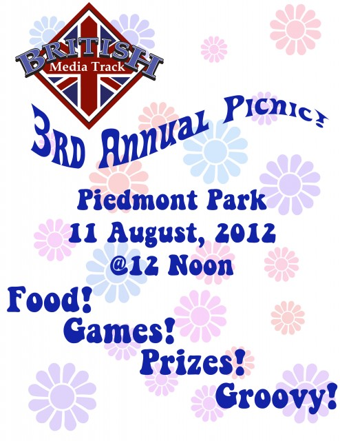 Brittrack 3rd Annual Picnic!  11 August 2012 @Piedmont Park