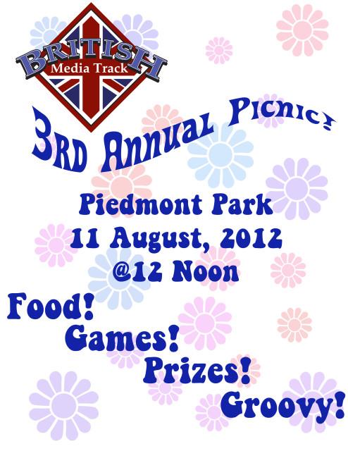 Brittrack 3rd Annual Picnic!  11 August 2012 @Piedmont Park