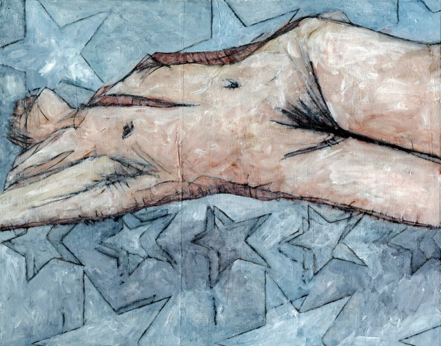 Figure on Bed of Stars (Incision)
