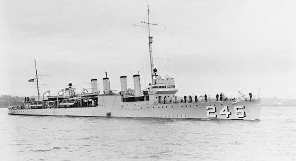 ВЭД'1941. Первый американский корабль, потопленный во Второй мировой войне