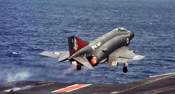 ВЭД'1978. Последний катапультный старт с британского авианосца