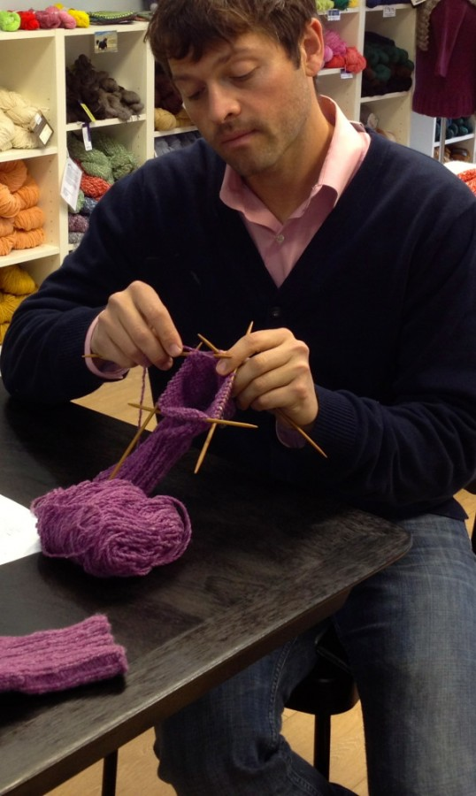 Misha Knitting