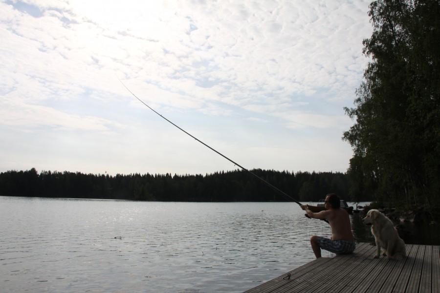 рыбалка в Финляндии на удочку