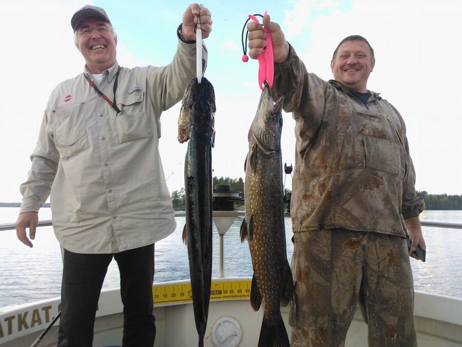 рыбалка в Финляндии на озере Пуула