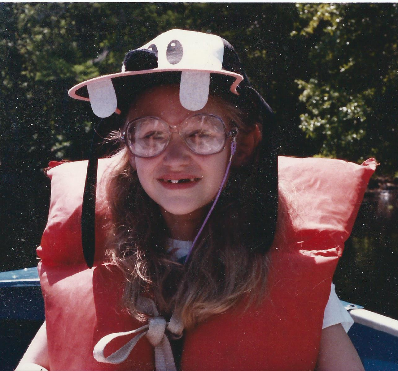me with goofy hat
