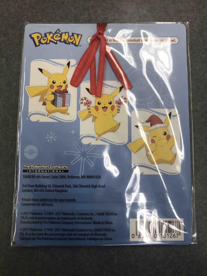 pokemon pikachu christmas ornament toys r us 2017 exclusive
