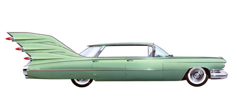 Трёхплавниковый Кадиллак 1959