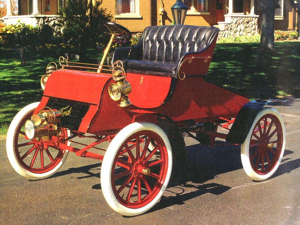 """Ford Model A Runabout """"1903–04"""