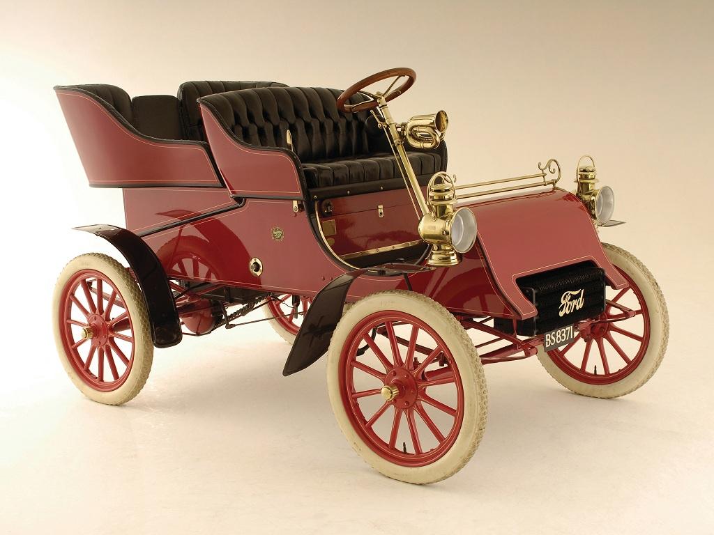 """Ford Model A Tonneau """"1903–04"""