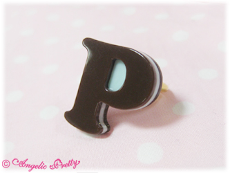 AP Melty Chocolate Ring in Mint (P)