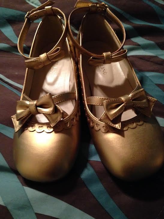 Bodyline Shoes in Gold 01