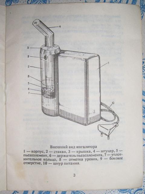 Ахтуба ингалятор инструкция