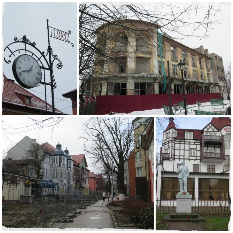 Кёнигсбергштрассе или Курортный проспект Зеленоградска