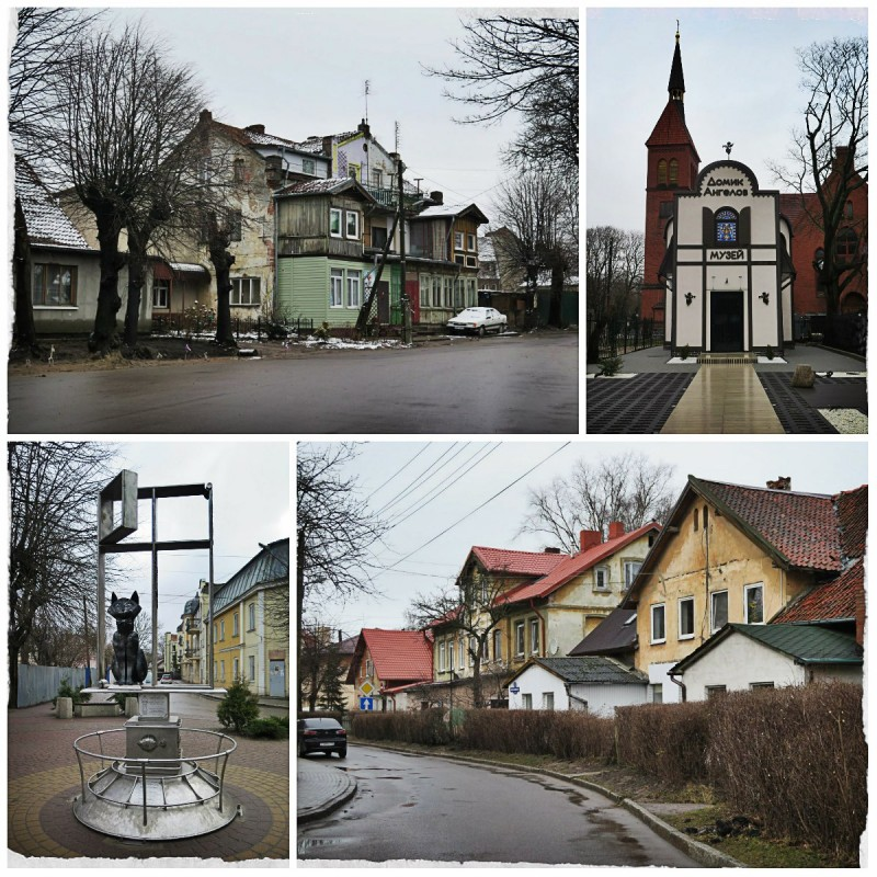 Зеленоградск, похожий на немецкую деревню, но все же русский