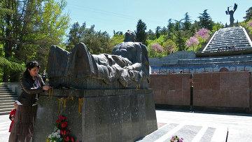 Неизвестный Солдат - Шива в Тбилиси