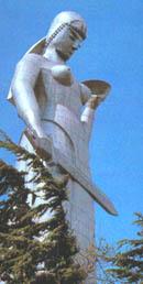 Первоначальный вариант статуи