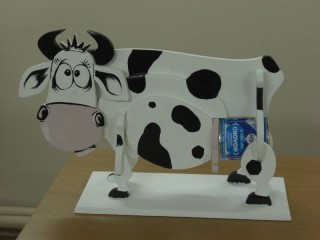 Как сделать корову своими руками из пластиковых бутылок