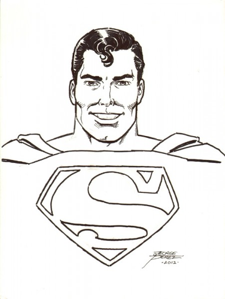 Superman by George Perez