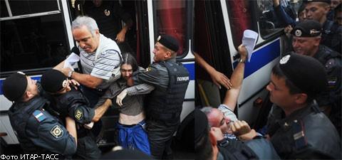 Задержание Каспарова 2